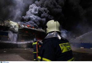 Απίστευτες εικόνες από την φωτιά στον Ασπρόπυργο