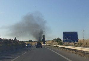 Κάτω Σχολάρι: Κατασβέστηκε φωτιά σε αγρόκτημα