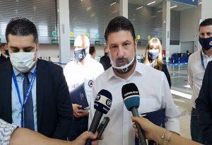 Στο αεροδρόμιο της Ζακύνθου ο Ν. Χαρδαλιάς (VIDEO)