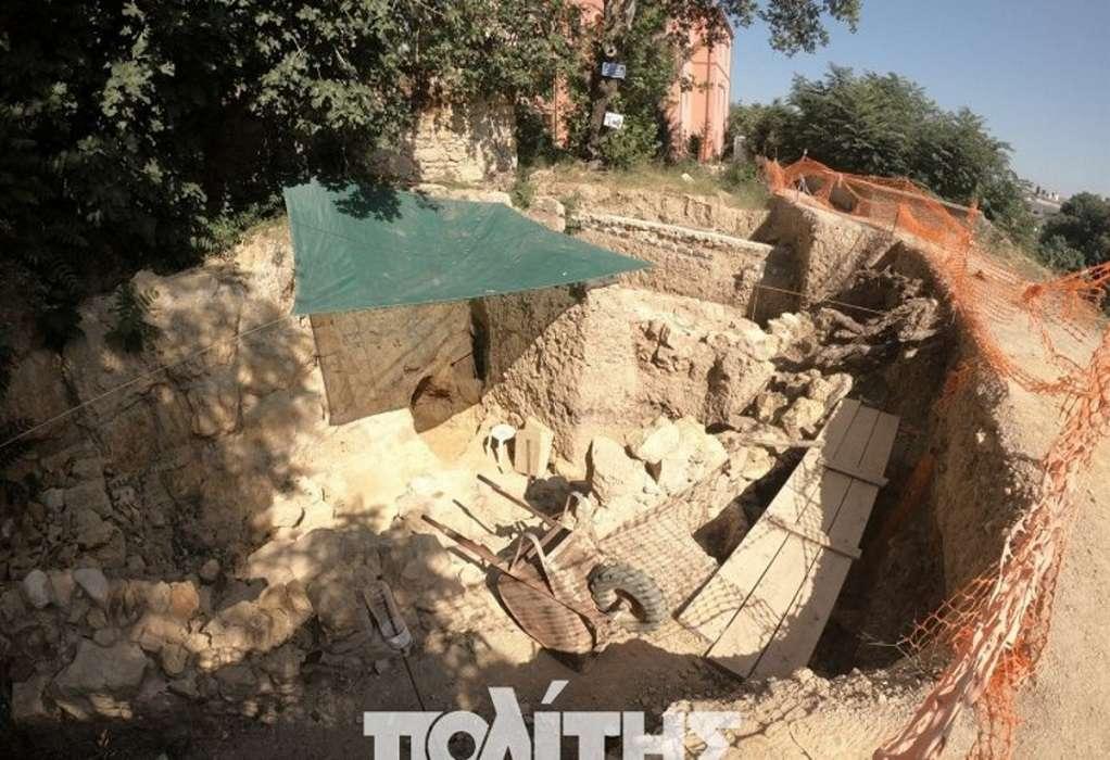 Ανακάλυψη αρχαιολογικών ευρημάτων