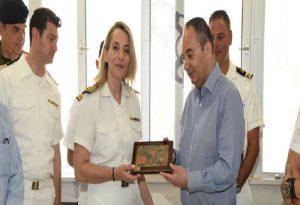 Γ. Πλακιωτάκης: Επίσκεψη στο Κεντρικό Λιμεναρχείο Χίου