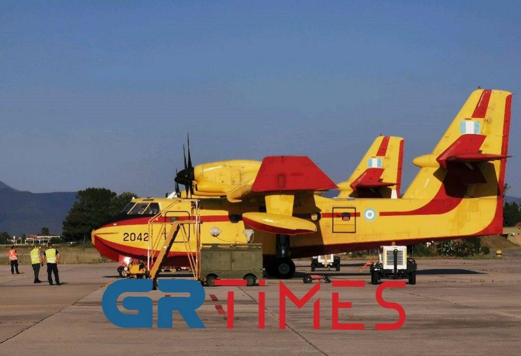 Canadair: Οι πυροσβέστες των αιθέρων σε μόνιμη ετοιμότητα (VIDEO)