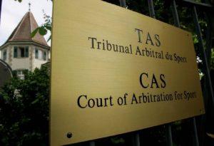 "CAS: ""Κλείδωσε"" η ημερομηνία για την εκδίκαση"