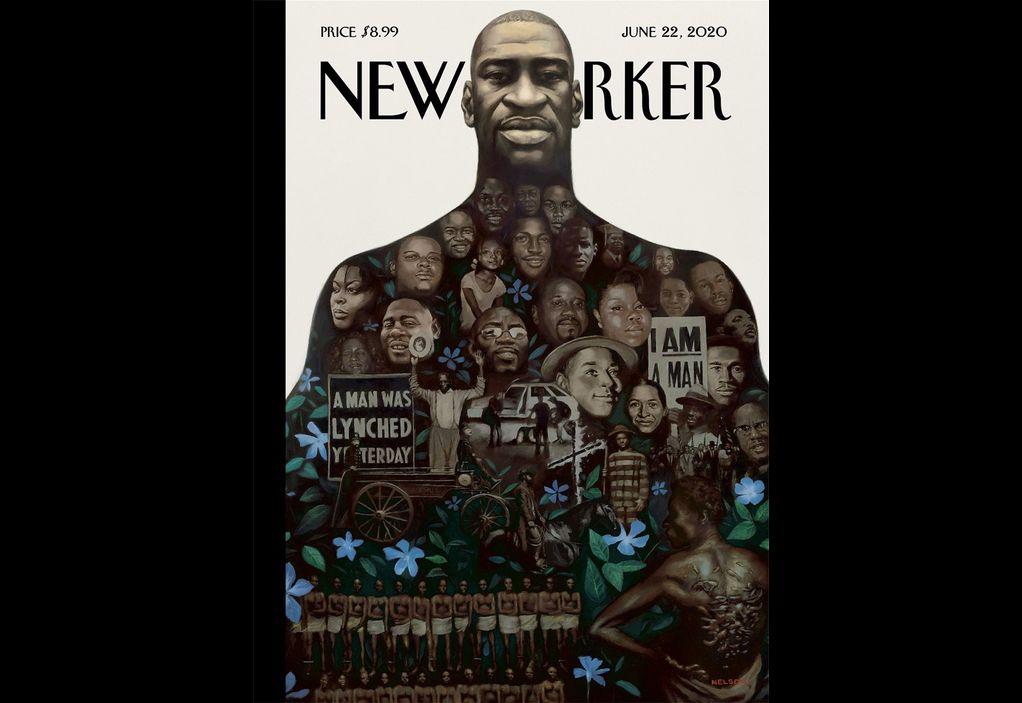 New Yorker: Συγκλονιστικό εξώφυλλο με τον Τζορτζ Φλόιντ