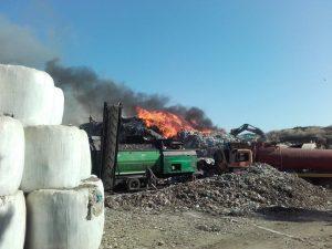 Κέρκυρα: Φωτιά και πάλι στον ΧΥΤΑ στο Τεμπλόνι