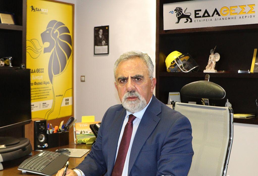 Λ. Μπακούρας: Πως η ΕΔΑ ΘΕΣΣ επιτυγχάνει ανάπτυξη, μείωση τιμολογίων και απόδοση για τους μετόχους