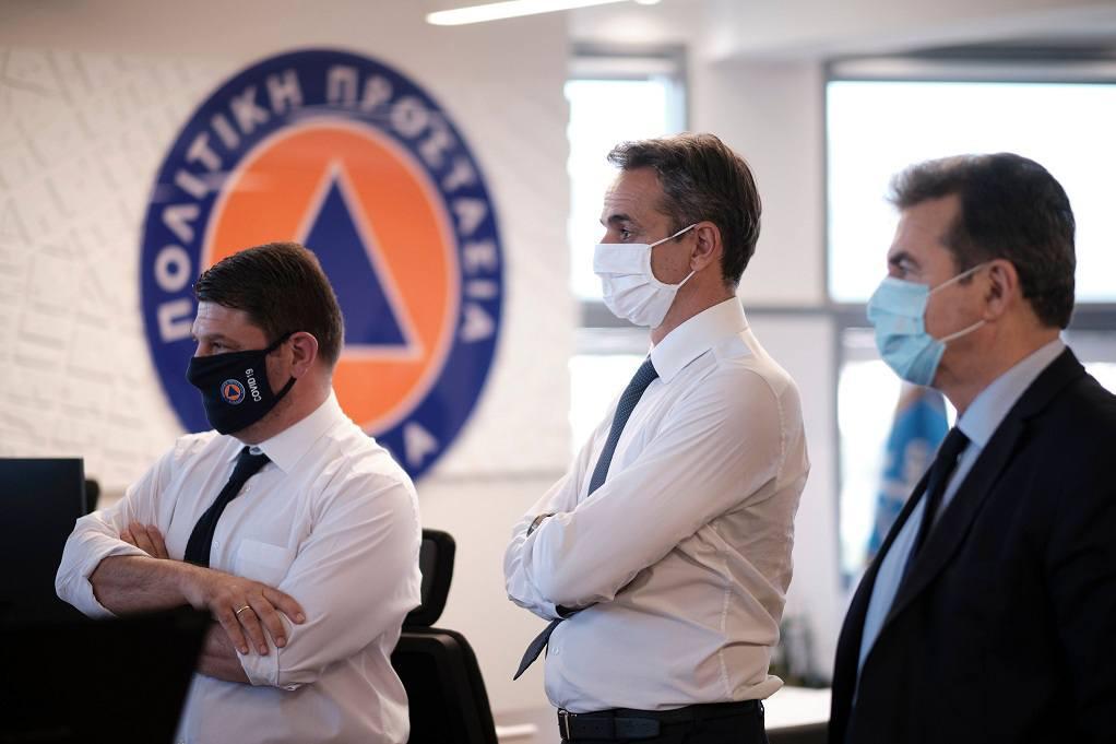 Μητσοτάκης: Με μάσκα στα προφίλ του στα social media - GRTimes.gr