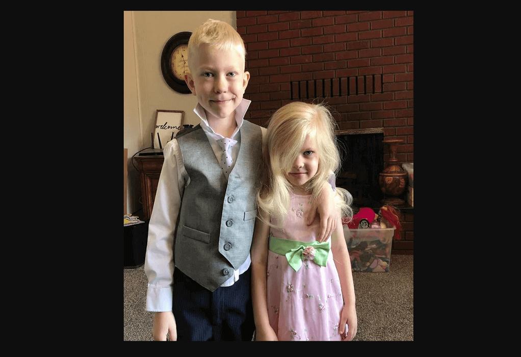 90 ράμματα για 6χρονο ήρωα που έσωσε την αδελφή του