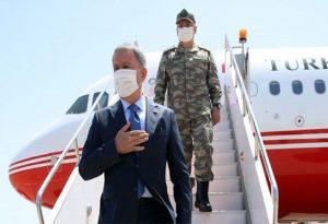 Τουρκικά ΜΜΕ: Ο Ακάρ στο Τριεθνές για επιθεώρηση