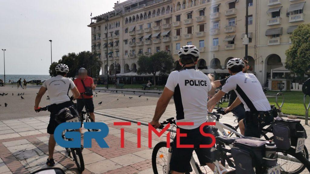 «Περιπολία» με τους ποδηλάτες αστυνομικούς της Θεσσαλονίκης, φωτογραφία-3