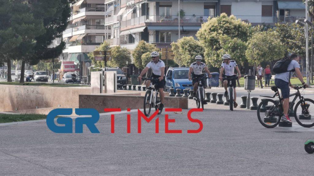 «Περιπολία» με τους ποδηλάτες αστυνομικούς της Θεσσαλονίκης, φωτογραφία-5