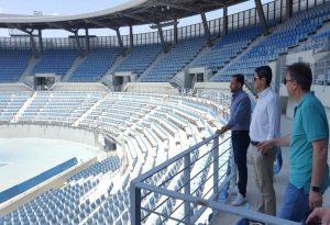 Λ. Αυγενάκης: Αυτοψία στις εγκαταστάσεις τένις στο ΟΑΚΑ