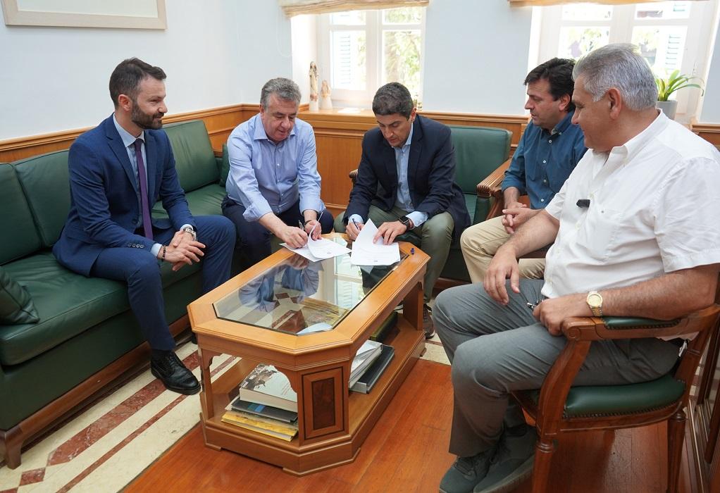 Μνημόνιο συνεργασίας ανάμεσα σε Γ.Γ.Α.- Περιφέρεια Κρήτης