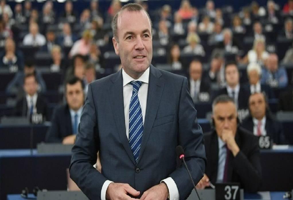 Βέμπερ: Να τερματιστούν οι ενταξιακές συνομιλίες με Τουρκία