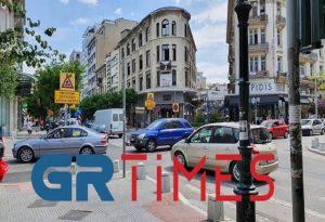 Νέες κυκλοφοριακές ρυθμίσεις έφερε το κλείσιμο της Βενιζέλου