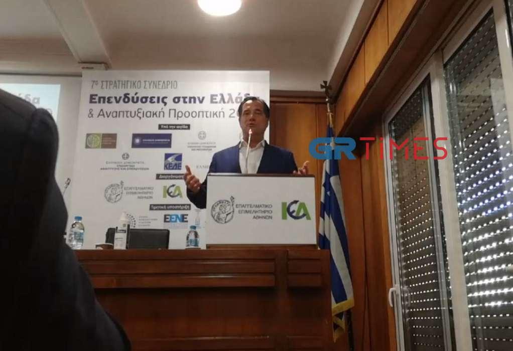 Α. Γεωργιάδης: Είμαστε ανοιχτοί στα λογικά αιτήματα (ΒΙΝΤΕΟ)