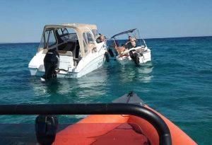 Επανομή: Ανατροπή σκάφους – Διάσωση 2 ατόμων