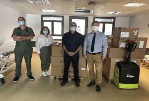 Η Ελληνικός Χρυσός παρέδωσε εξοπλισμό ΜΕΘ στα νοσοκομεία ΑΧΕΠΑ και Γενικό Νοσοκομείο Χαλκιδικής