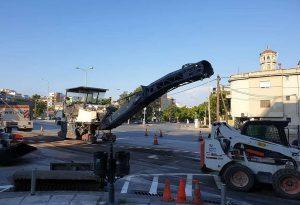 Θεσσαλονίκη: Ξεκίνησε η ασφαλτόστρωση στην Λεωφόρο Κ. Καραμανλή (ΦΩΤΟ-VIDEO)