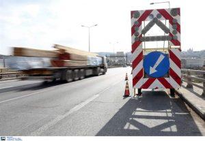 Εργασίες διαγράμμισης σήμερα στην Περιφερειακή Οδό Θεσσαλονίκης