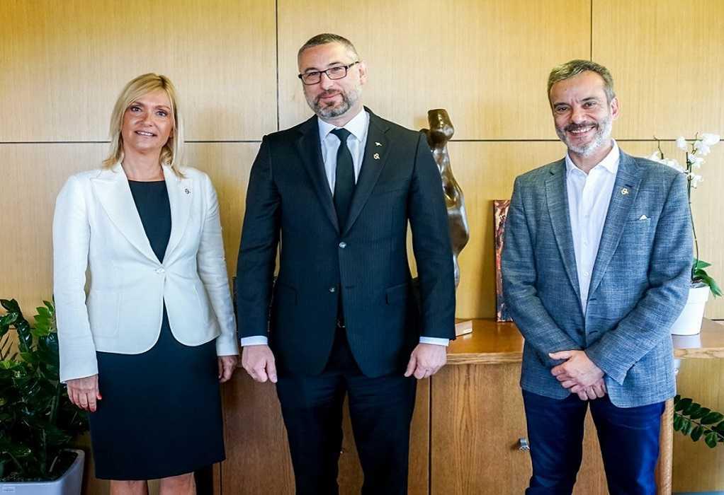 Συνάντηση Δημάρχου Θεσσαλονίκης με Πρέσβη της Αυστραλίας στην Ελλάδα