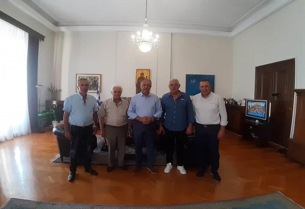Συνάντηση Καράογλου με Κίνημα Πολιτών Σοχού