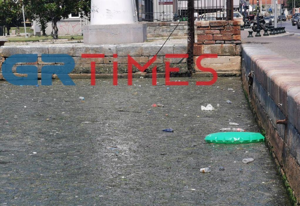 Θεσσαλονίκη: Θερμαϊκός για άλλη μια φορά γέμισε με σκουπίδια, φωτογραφία-2