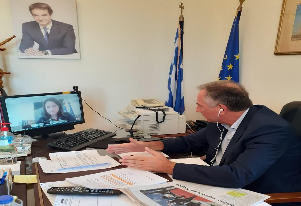 Σ. Καλαφάτης: Συνεχίζονται οι τηλεδιασκέψεις με τους υπουργούς