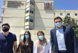 Β. Κικίλιας: Περιοδεία στην Κρήτη