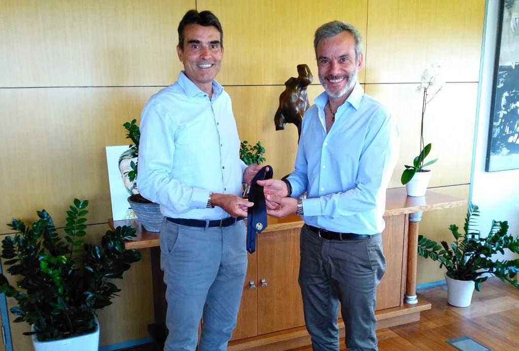 Συνάντηση Κούβελα με Ζέρβα για τα θέματα του κεντρικού Δήμου