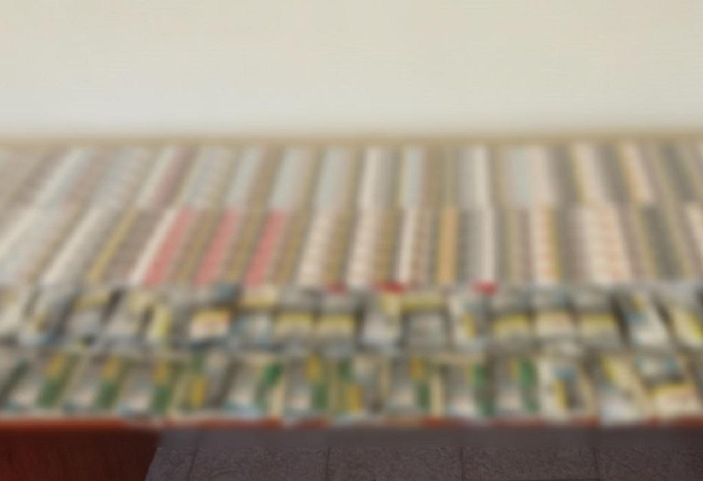 Είχε στο σπίτι του πάνω από 500 λαθραία τσιγάρα
