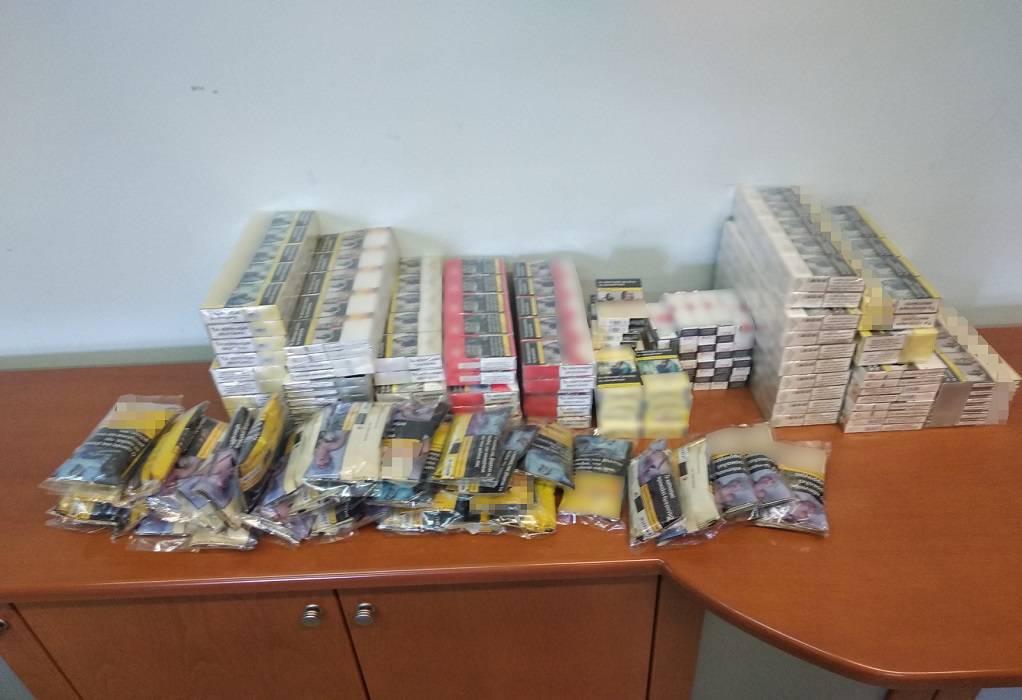 Σύλληψη για λαθραία τσιγάρα σε χωριό της Ροδόπης