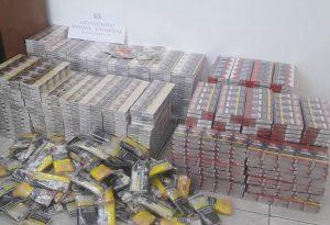 Χιλιάδες λαθραία τσιγάρα στην Πέλλα