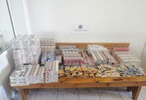 Θεσ/νίκη: Συλλήψεις για χιλιάδες λαθραία τσιγάρα