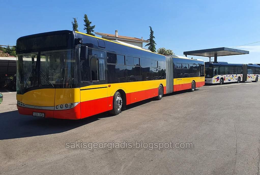 ΟΑΣΘ: Ήρθαν τα λεωφορεία για τη Θεσσαλονίκη
