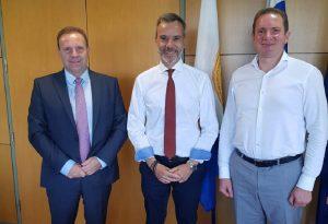 Συνάντηση Ζέρβα με τον νέο πρόεδρο της ΟΛΘ ΑΕ