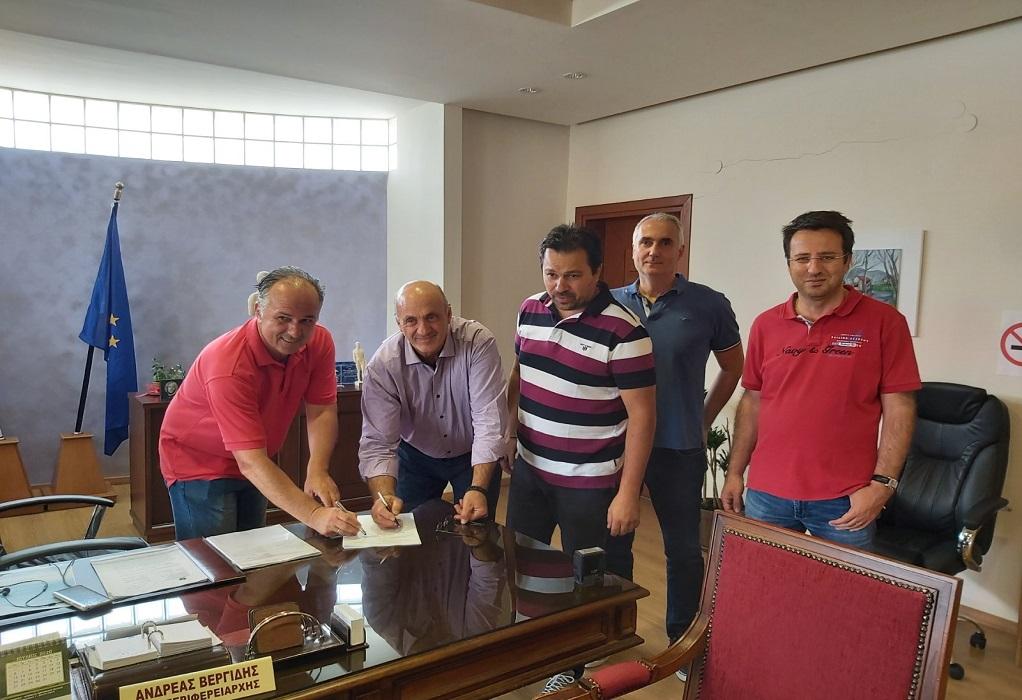 Βελτιώση υποδομών προσβασιμότητας στη λίμνη Δοϊράνη