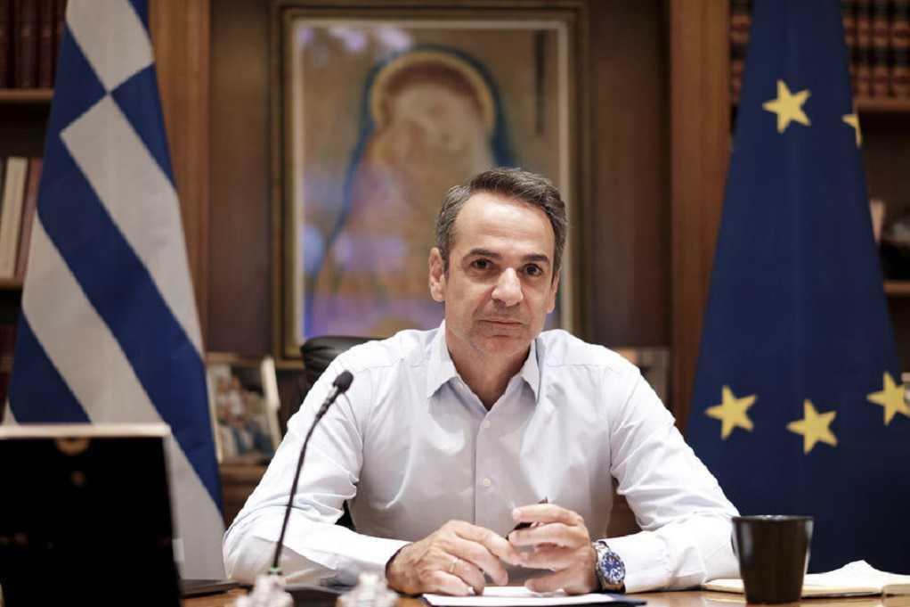 Μήνυμα Κ. Μητσοτάκη στους Ευρωπαίους ηγέτες ενόψει του Ευρ. Συμβουλίου