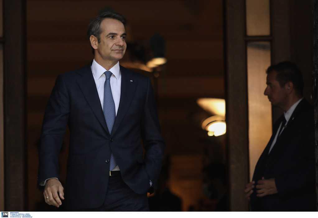 Μητσοτάκης: Ενημερώνει σήμερα τους πολιτικούς αρχηγούς