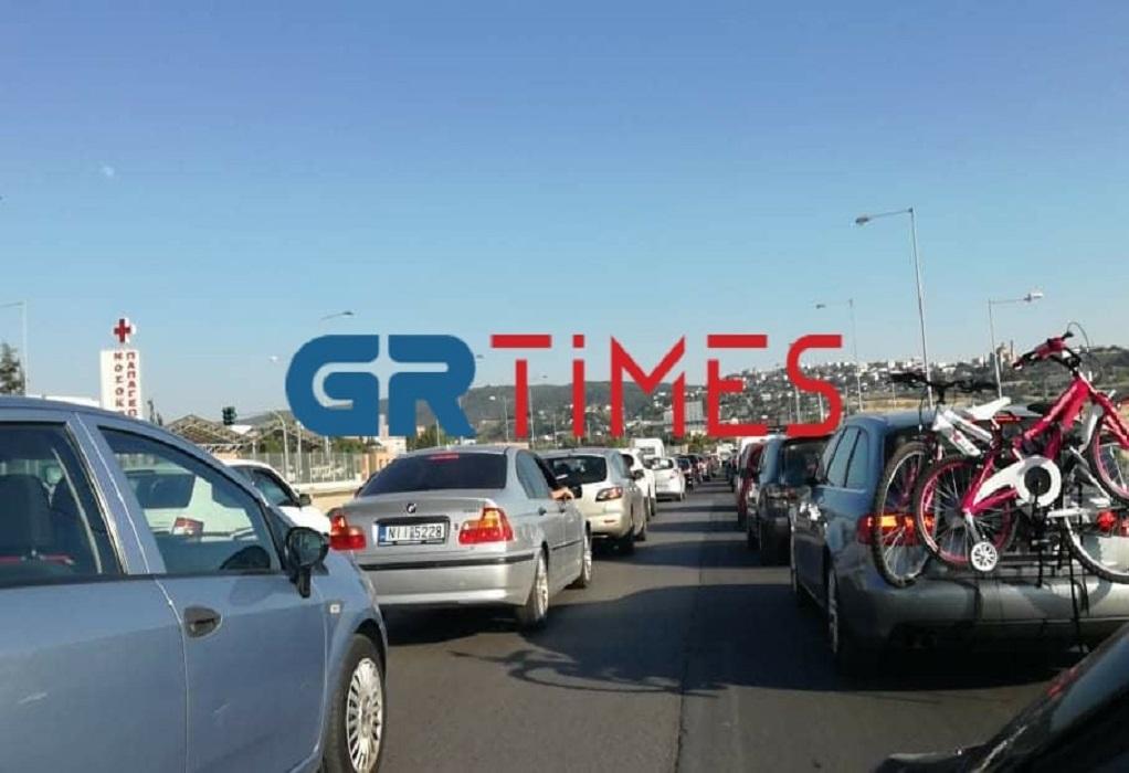 Τροχαίο στην περιφερειακή οδό (ΦΩΤΟ)