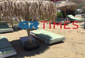 Μύκονος: Άδεια καταστήματα και έρημες παραλίες (ΦΩΤΟ)