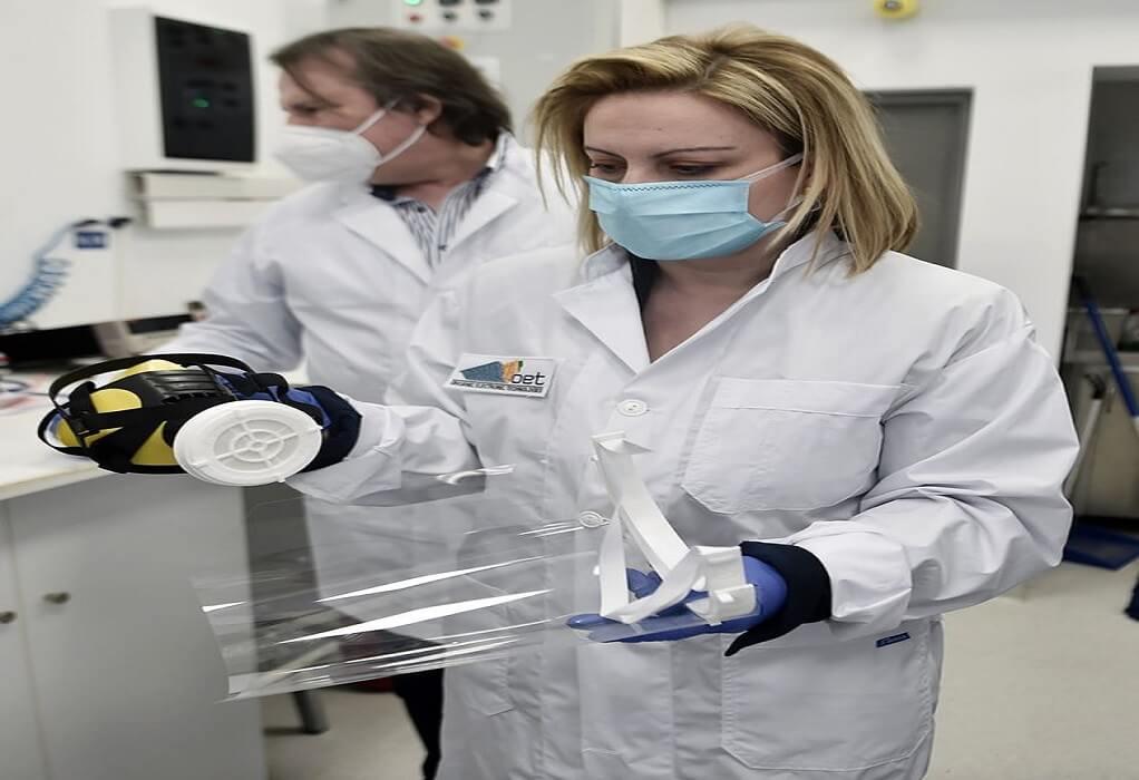 Μάσκες με νανοφίλτρα και rapid test από το Εργαστήριο Νανοτεχνολογίας ΑΠΘ