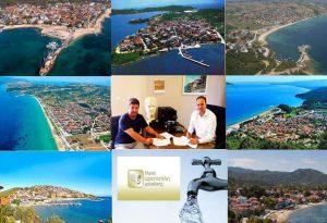 Τεράστιο έργο ύδρευσης για τον δήμο Αριστοτέλη