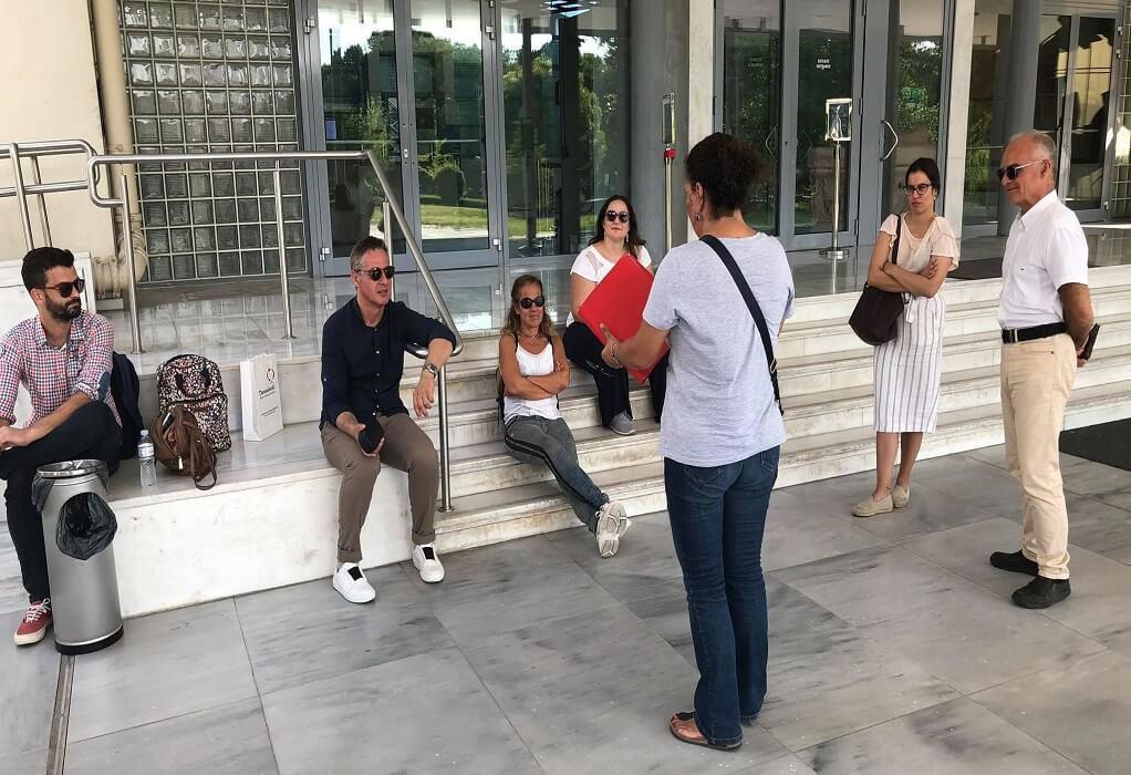 Θεσ/νίκη: Ξενάγηση στους φορείς τουρισμού