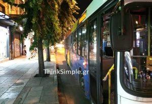 Θεσ/νίκη: Επίθεση σε οδηγό λεωφορείου (ΦΩΤΟ)