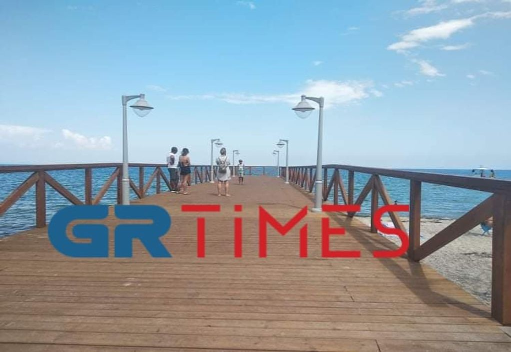 Τουρισμός: Χωρίς κόσμο η Παραλία Κατερίνης (ΦΩΤΟ+VIDEO)