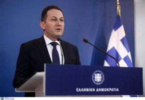 Ενημέρωση πολιτικών συντακτών από τον Σ. Πέτσα (VIDEO)