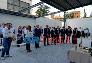 Ο Γ. Πιτσιλής στο νέο σπίτι της ΑΑΔΕ στη Θεσσαλονίκη (ΦΩΤΟ – VIDEO)