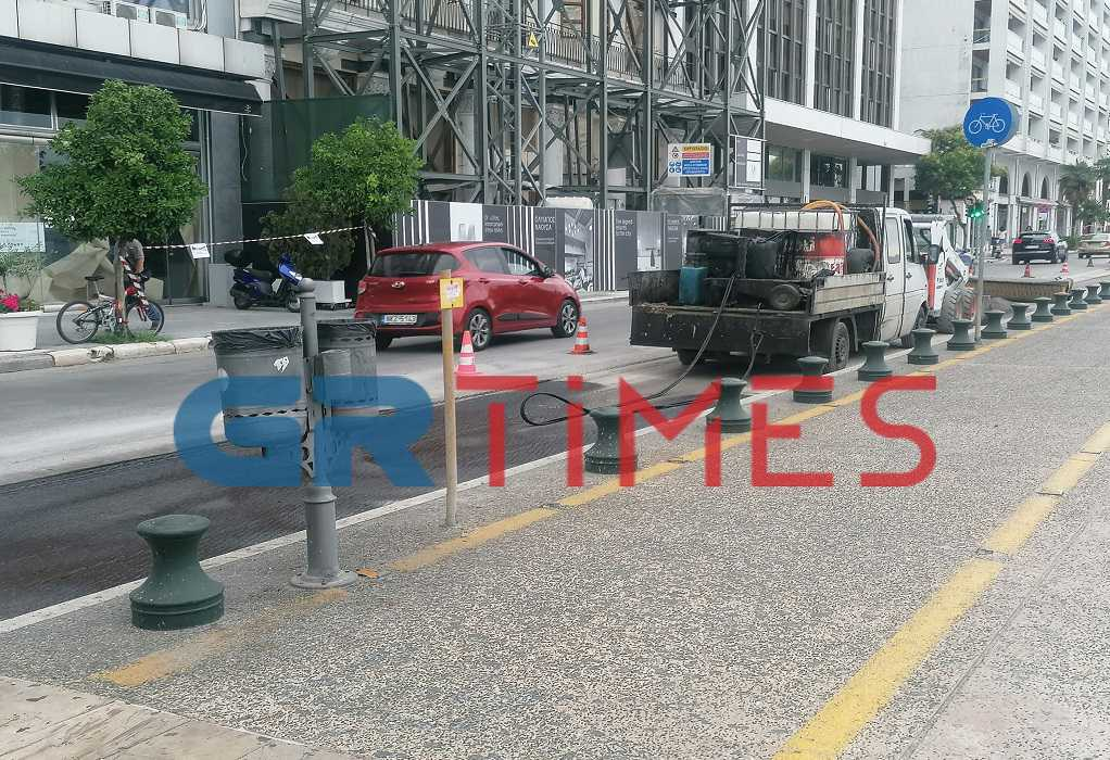 Θεσσαλονίκη: Εργασίες ασφαλτόστρωσης για 4 ημέρες στη Λεωφόρο Νίκης – Πότε ξεκινάνε