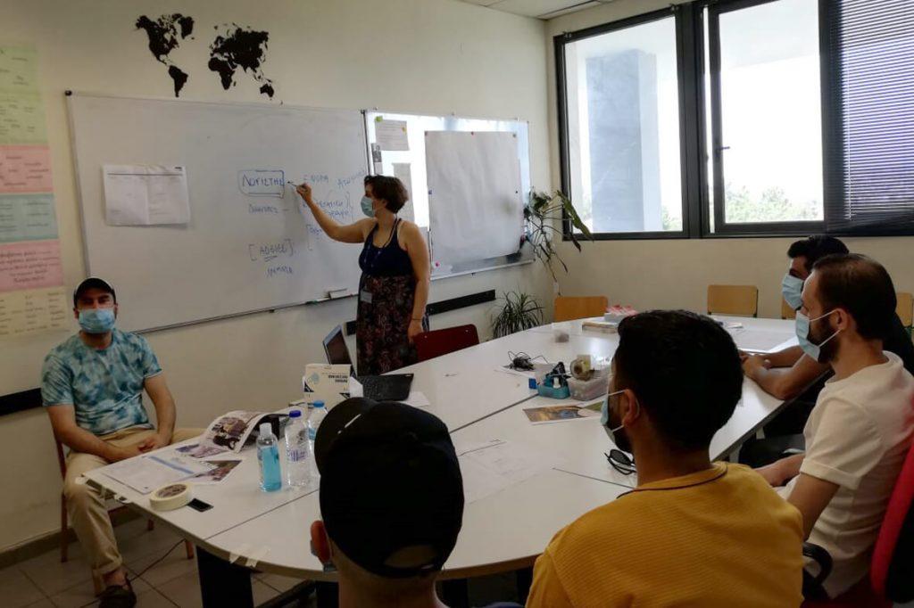 Σεμινάριο επιχειρηματικότητας για πρόσφυγες